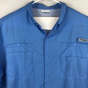 Columbia PFG [NEW] SS Button Down Shirt -4XT